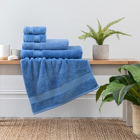 Cornflower Egyptian Cotton Towel