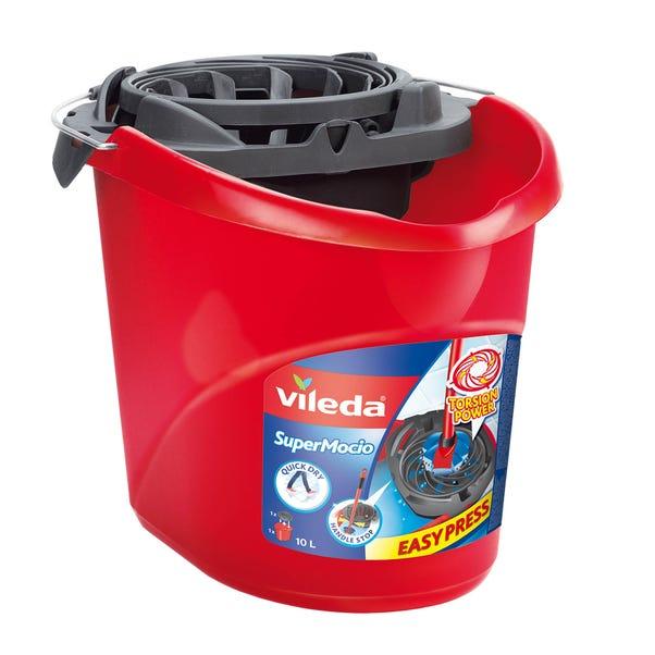 Vileda SuperMocio Mop Bucket and Torsion Wringer Multi Coloured