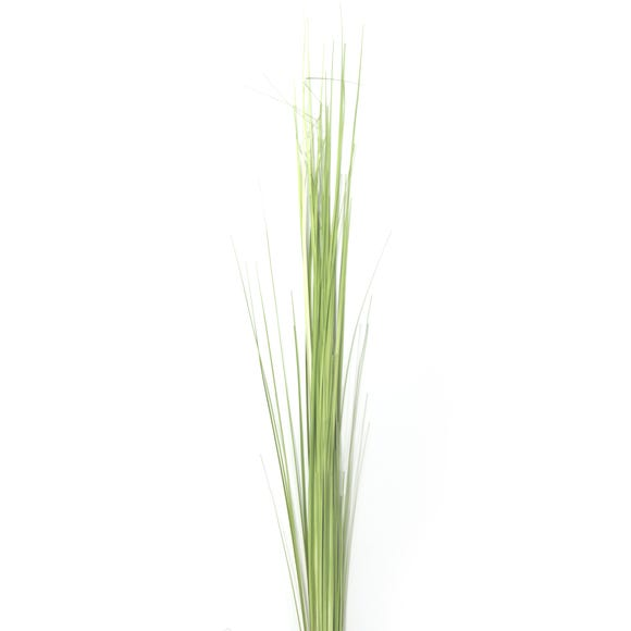 Artificial Onion Grass Green Single Spray 115cm Green
