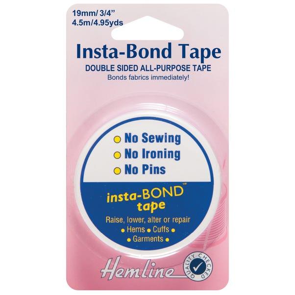 Hemline Insta-Bond Double-Sided Tape Clear