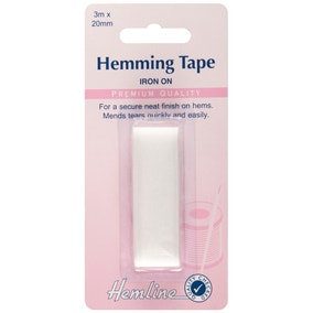 Hemline White Hemming Tape 3m