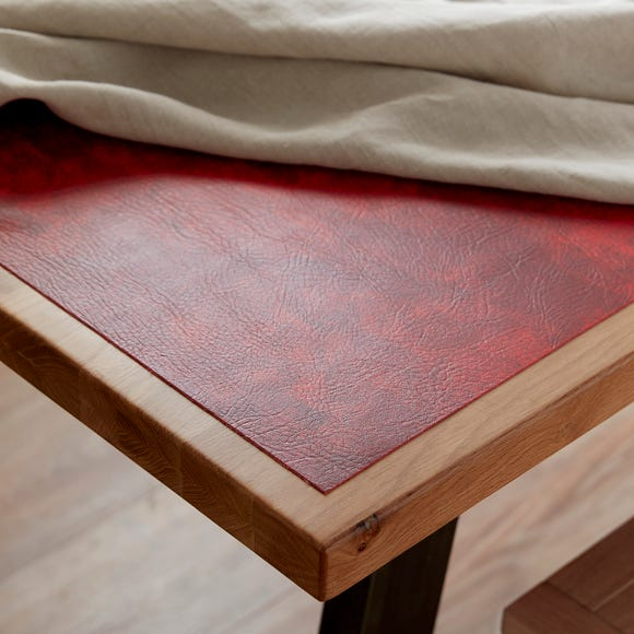 Chester PVC Leatherette Red