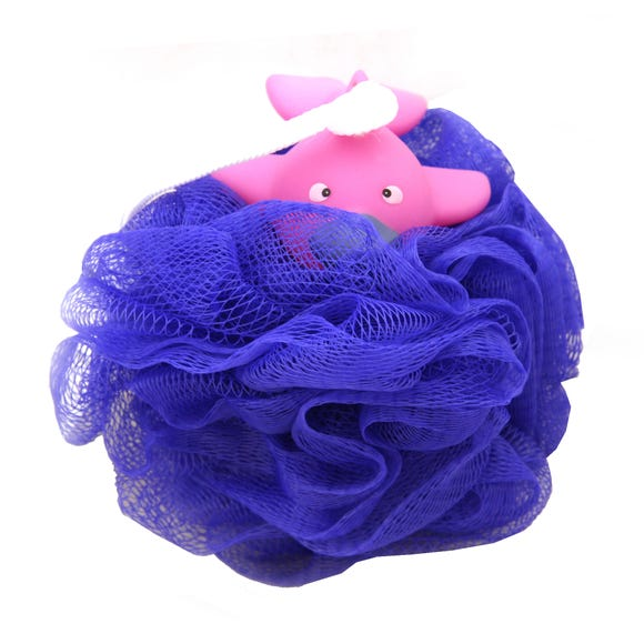 Platy Bath Toy Scrunchie Multi Coloured