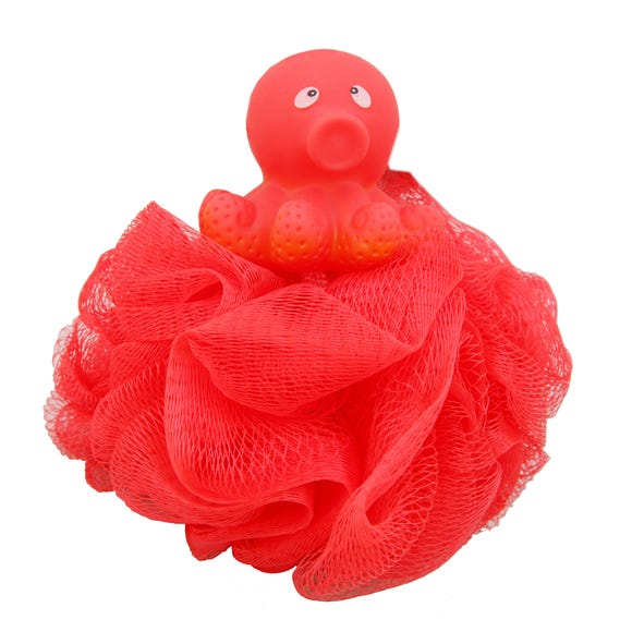 Squirt Scrunchie Bath Toy Red