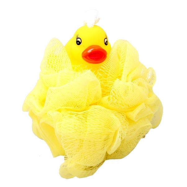 Ducky Scrunchie Bath Toy Yellow