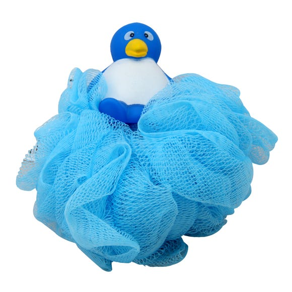 Pen Pen Scrunchie Bath Toy Blue
