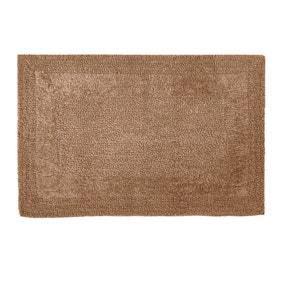Super Soft Reversible Walnut Bath Mat