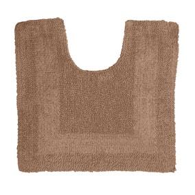 Super Soft Reversible Walnut Pedestal Mat