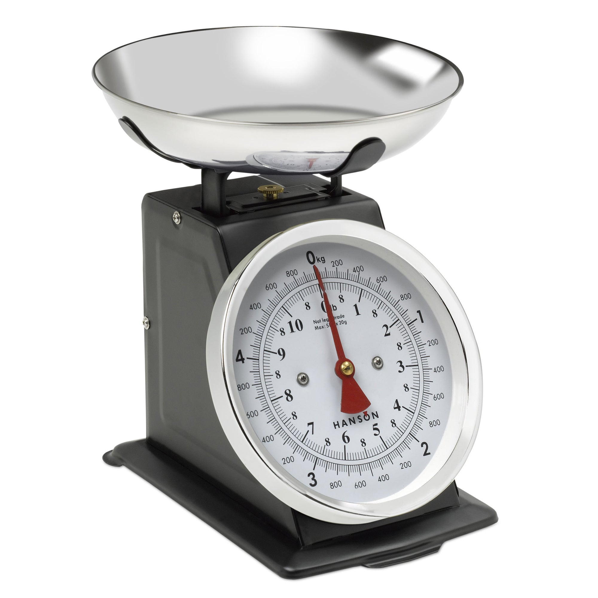 Click to view product details and reviews for Terraillon T500 5kg Traditional Black Kitchen Scales Black White And Silver.