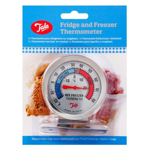 Tala Fridge and Freezer Thermometer Grey