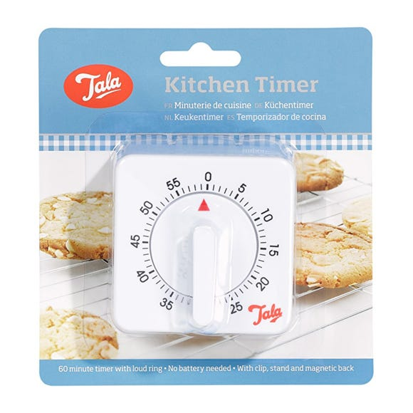 Tala Kitchen Timer White