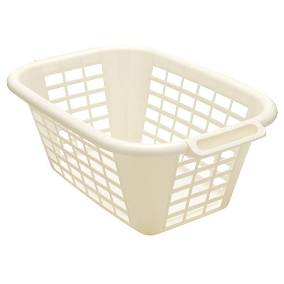 Addis Laundry Basket Linen (Cream)