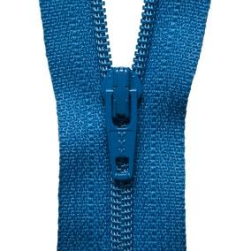 Blue Nylon Zip