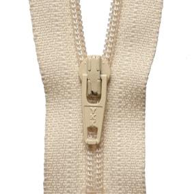 Khaki Nylon Zip