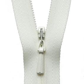 Cream Concealed Zip