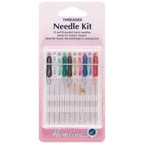 Hemline Pre-Threaded Needles