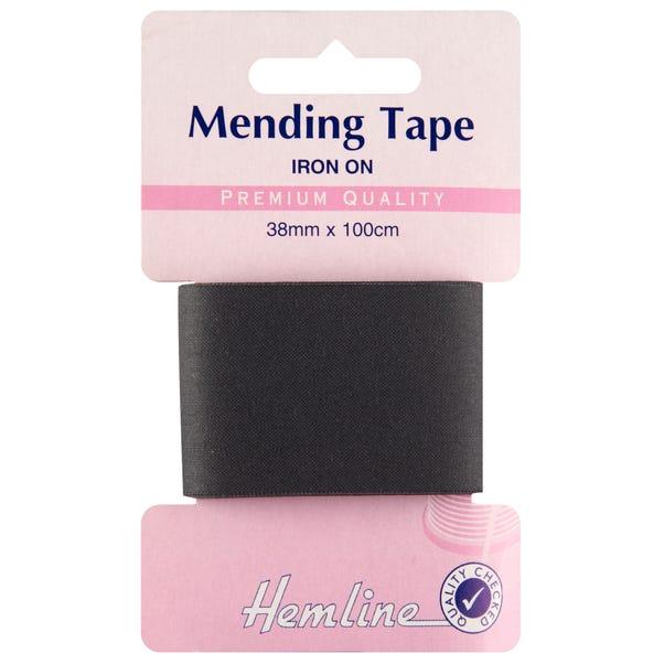 Hemline Black Iron-On Tape
