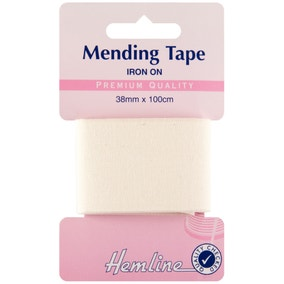 Hemline Off-White Iron-On Tape