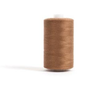 Hemline Light Brown Polyester Thread