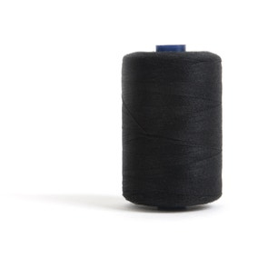 Hemline Black Polyester Thread