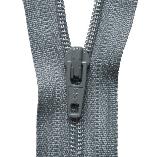 Grey Nylon Zip Grey undefined