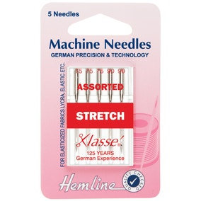 Hemline H102.99 Stretch Assist Sewing Machine Needles
