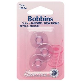 Hemline Clear Janome New Home Bobbins