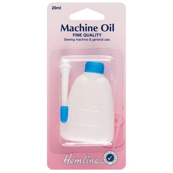 Hemline H155 Sewing Machine Oil Clear