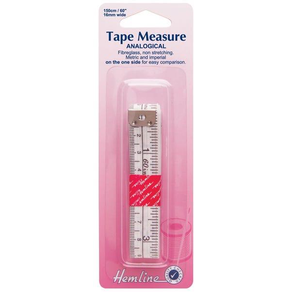 Hemline Analogical Fibreglass Tape Measure