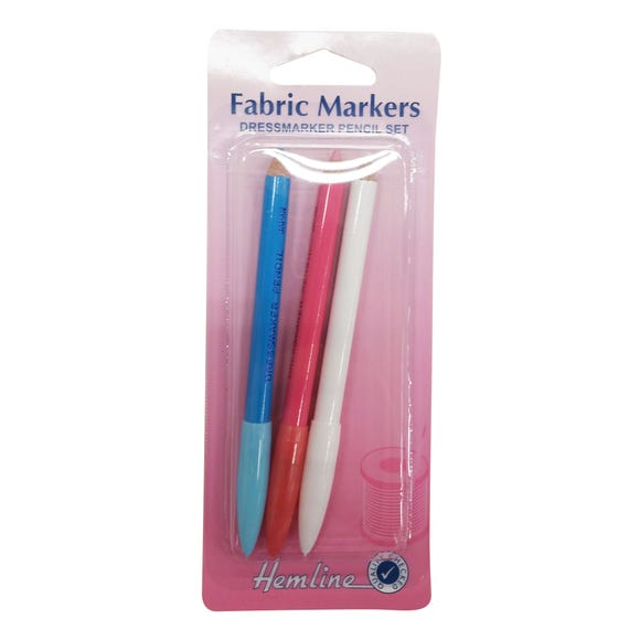 Hemline Dressmakers Pencils MultiColoured