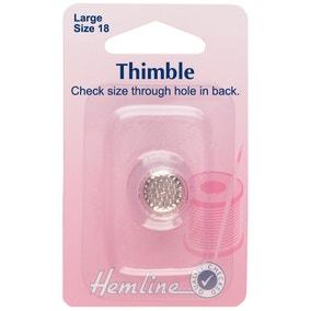 Hemline Steel Thimble