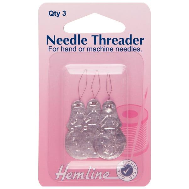 Hemline Needle Threaders Silver