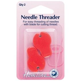 Hemline Threader And Cutter 2 Pack