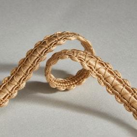 Contemporary Braid Gold Trim