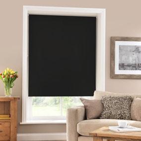 Black Blackout Roller Blind