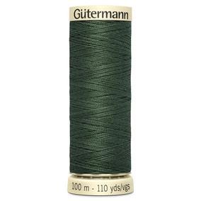Gutermann 100m Sew All Cotton Thread Pine Green (164)