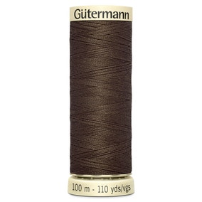 Gutermann Sew All Thread 100m Mid Brown (222)