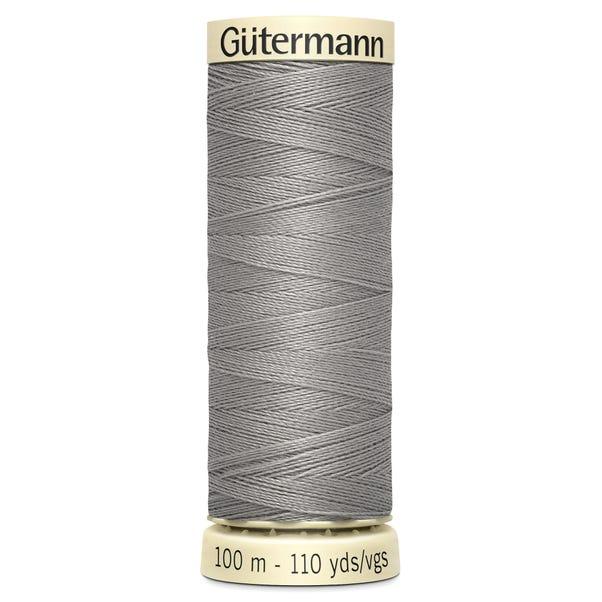 Gutermann Sew All Thread 100m Grey (495) Grey undefined