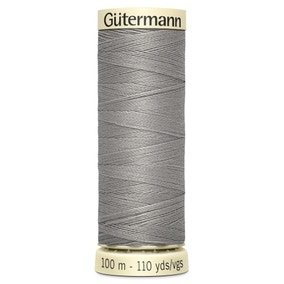 Gutermann Sew All Thread 100m Grey (495)