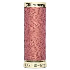 Gutermann Sew All Thread Rich Peach (79)