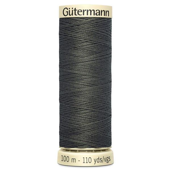Gutermann Sew All Thread 100m Brown (972) Brown undefined