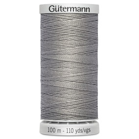 Gutermann 100m Extra Strong Grey Upholstery Thread