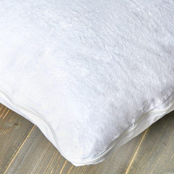 Memory Foam Pillow Cover White