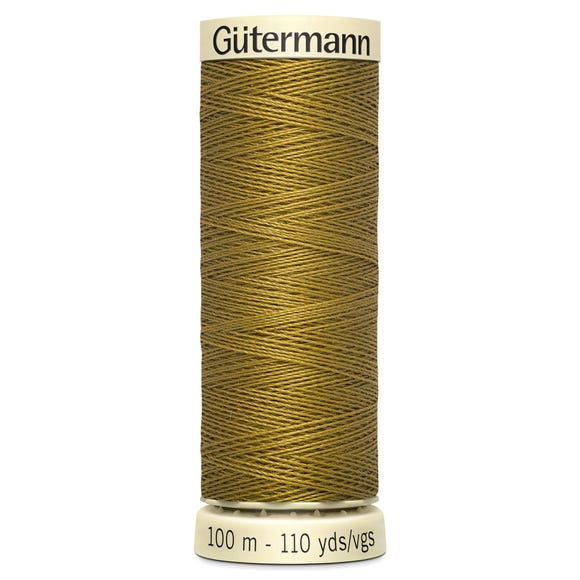 Gutermann Sew All Thread 100m Fawn (886) Fawn (Yellow) undefined