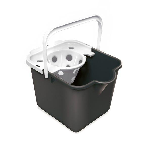 Addis Mop Bucket and Wringer Black