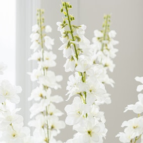 Artificial Delphinium Cream Single Spray 92cm