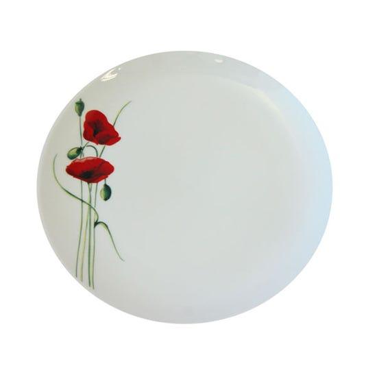 Poppy Side Plate White