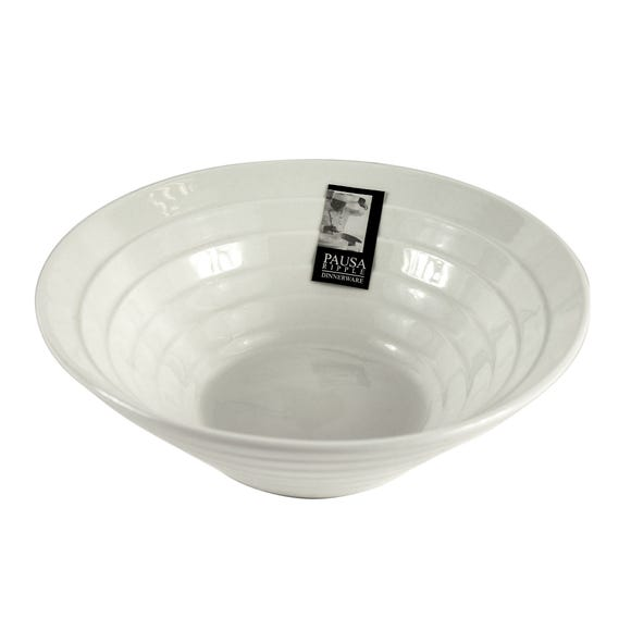 Pausa Ripple Cereal Bowl White