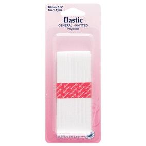 Elastic 40mmX1m White H620.40