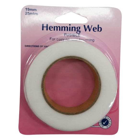Hemline Web Fusible Hemming White